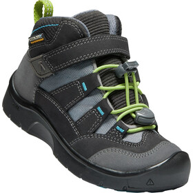 Keen Hikeport WP Mid Shoes Kids magnet/greenery
